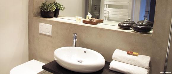 Salle de douche inside cr ation for Support vasque salle de bain