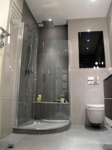 bac de douche à l'italienne